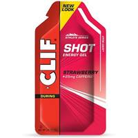 Clif Shot Energy Gel - Strawberry w/Caffeine