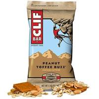 Clif Bar 2.4oz Energy Bar - Peanut Toffee Buzz