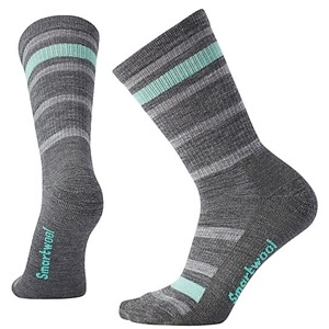 SmartWool Women's Striped Hike Crew Socks