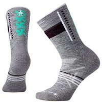 SmartWool Women's PhD Outdoor Medium Pattern Crew Socks