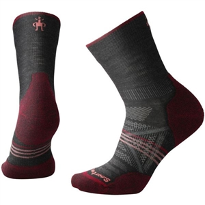 SmartWool Women's PhD Outdoor Light Mid Crew Socks