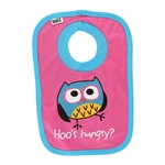 Lazy One Infant Girls's Who's Hungry Bib