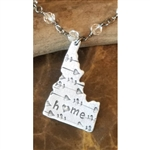 Down 2 Earth Idaho Arrow Heart Necklace with chain Tassle