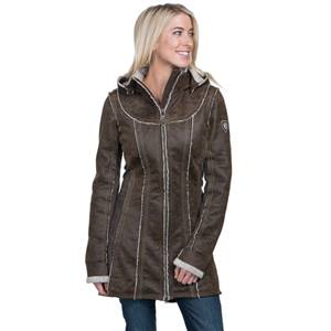 Kuhl Women's Dani Sherpa Trench Jacket