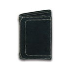 Carhartt Men's Milled Pebble Trifold Wallet with Collectible Tin