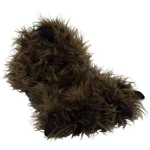 Lazy One Bigfoot Paw Slippers