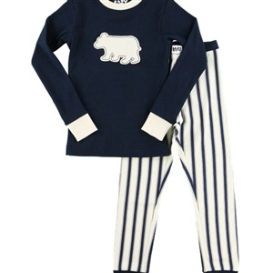 Lazy One Ticking Bear Kid Set