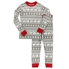 Lazy One Nordic Bear Kid's Long Sleeve PJ Set