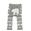 Lazy One Nordic Bear Infant Leggings