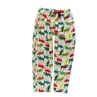 Lazy Ones Patterned Moose Flannel PJ Pants