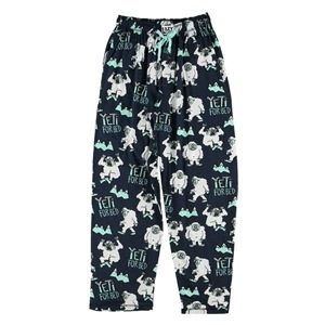 Lazy One Men's Yeti For Bed PJ Pants