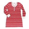 Lazy One Nordic Moose Women's Nightshirt