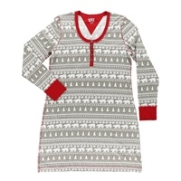 Lazy One Nordic Bear Women's Nightshirt