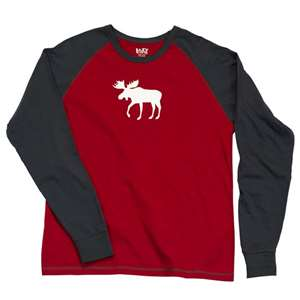 Lazy One Moose Fair Isle Long PJ Tee