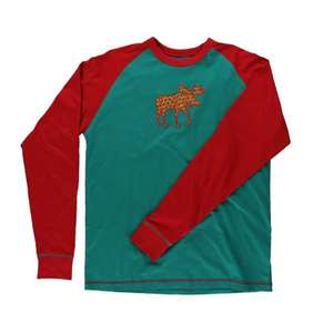 Lazy Ones Men's Patterned Moose PJ Tee
