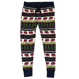 Lazy One Bear Fair Isle Women's PJ Legging