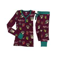 Lazy Ones Women's Night Owl Thermal Sleepwear Set