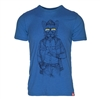 Meridian Line Men's Hip Cat Organic 5/5 T-Shirt