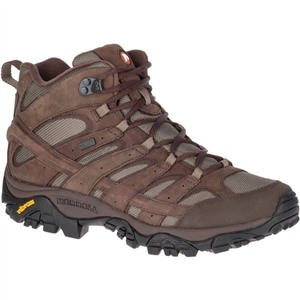 Merrell Men's Moab 2 Mother of All Boots Smooth Mid Waterproof