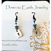 Down To Earth Pine Tree Dangle Earrings