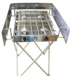 "Partner Steel 22"" Stove Stand"