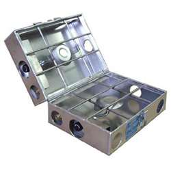 "Partner Steel 9"" 2 Burner Folding Propane Stove"