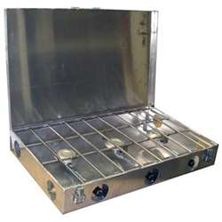Partner Steel 3 Burner Propane Stove with Lid
