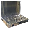 Partner Steel 3 Burner Propane Stove with Wind Screen