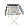 "Partner Steel 26"" Stove Stand & Windscreen"