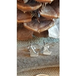 Petite Idaho Sterling Silver Stud Earrings