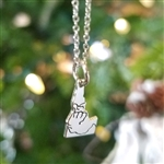 "Idaho Rivers 16"" Sterling Silver Necklace"