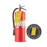 20 lb ABC Dry Chemical Fire Extinguisher