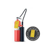 15 lb CO2 Dry Chemical Fire Extinguisher