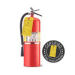 20 lb CO2 Dry Chemical Fire Extinguisher