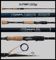 "Gen 2 XAS 7'0"" Medium Fast Walleye Spinning Rod"