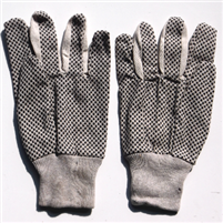 Bead palm cotton gloves
