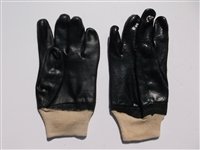 Black knit wrist glove