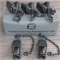 Freedom Brand Dog Proof trap-dozen
