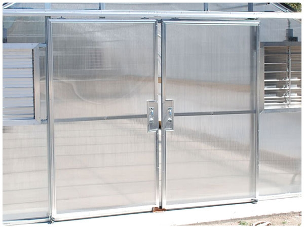 Double Hung Doors with Polycarbonate Panels & Double Hung Doors - Polycarbonate Panels | Rimol Greenhouses