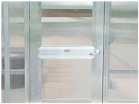 Single Hung Door with Polycarbonate Panel