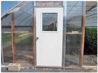 Pre-Hung Insulated Utility Doors