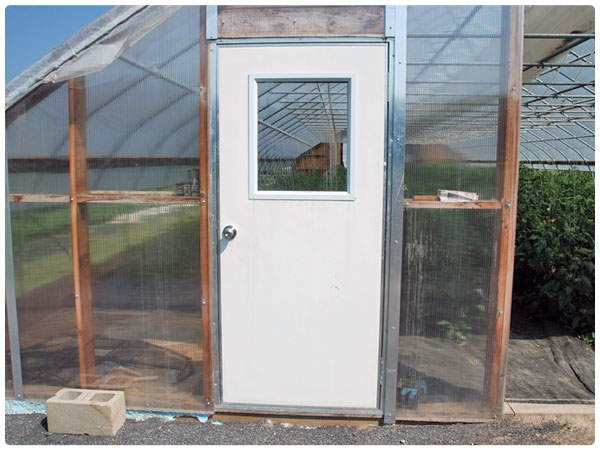 Pre-Hung Insulated Utility Doors & Insulated Utility Doors - Pre-Hung | Rimol Greenhouses
