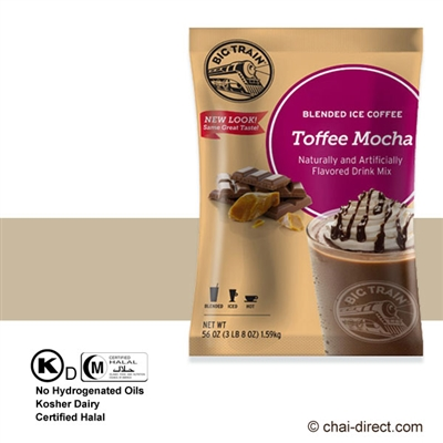 Photo of Heath Toffee Mocha Coffee Flavored Ice Drink Mix by Big Train