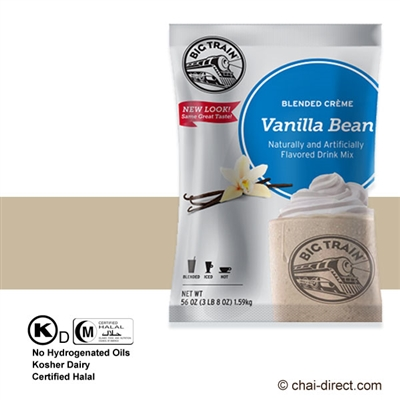 Photo of Vanilla Bean Coffee Free Flavored Ice Drink Mix by Big Train