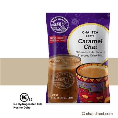 Photo of Caramel Chai Flavored Latte Mix by Big Train