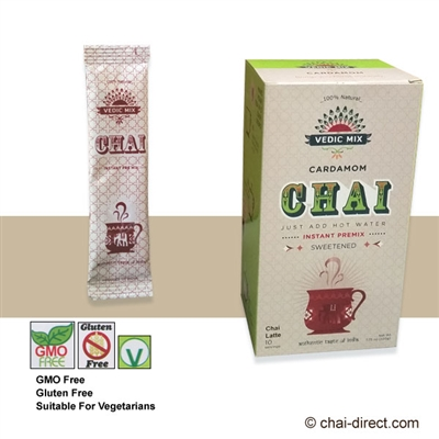 Photo of Cardamom Sweetened Chai Latte Mix by Vedic Mix