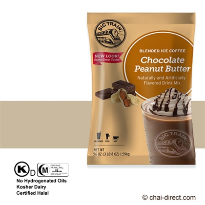 Photo of Chocolate Peanut Butter Coffee Flavored Ice Drink Mix by Big Train