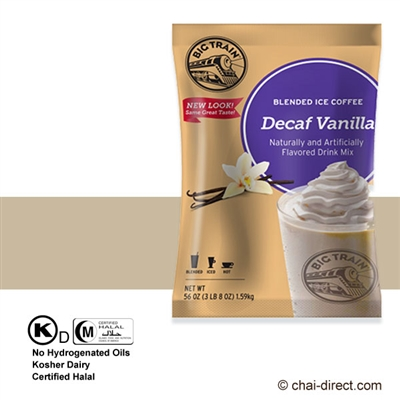Photo of Decaf Vanilla Coffee Flavored Ice Drink Mix by Big Train