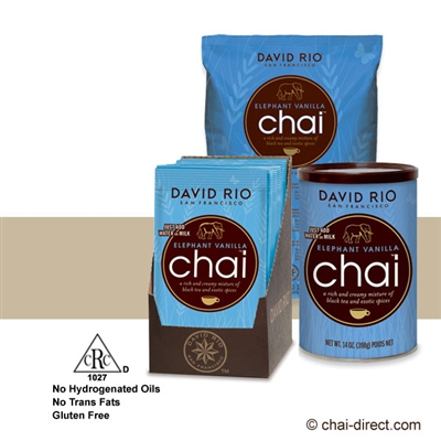 Photo of Elephant Vanilla Chai Latte Mix by David Rio