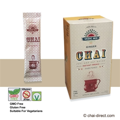 Photo of Ginger Sweetened Chai Latte Mix by Vedic Mix